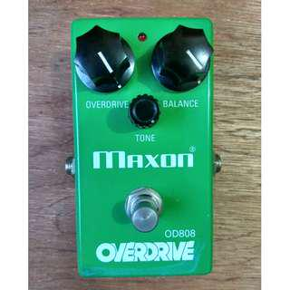 Guitar effects (Overdrive distortion)