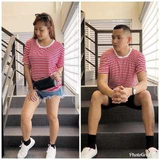 Couple Shirt Stripes