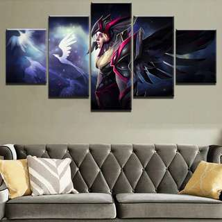 Dota 2 Vengeful Spirit Canvas Print
