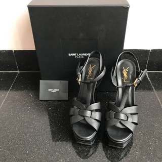 Preloved YSL Tribute high heels black