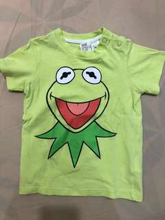 H&M Kermit the Frog 9-12mos