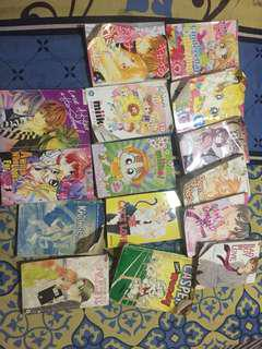 Take all manga komik jepang murah 15pcs
