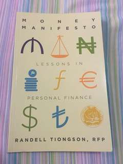 Randell Tiongson: Money Manifesto Lessons in Personal Finance