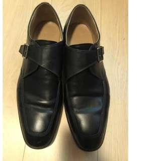 Bally black leather shoes EU42.5/US10.5
