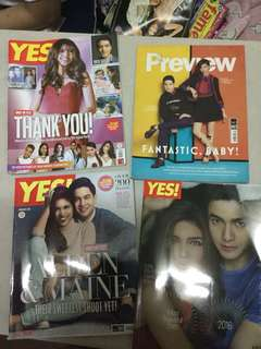 ALDEN RICHARDS MAINE MENDOZA ALDUB MAGAZINES