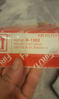 Air Filter Toyota Avanza