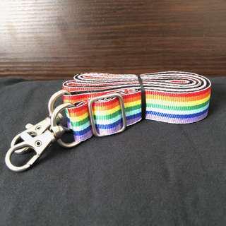 BN 2cm Rainbow Seatbelt Strap