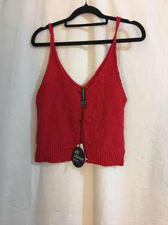 All About Eve Red Knit Size 10