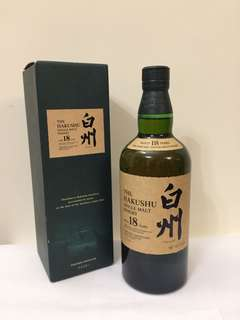 白州18年 43% 700ml The Hakushu Single Malt 18 years