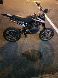 Pocket Scrambler bike 49CC.