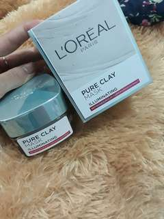 Loreal Pure Clay Mask Illuminating