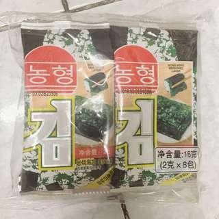 Nong Heng Seasoned Laver (Seaweed)