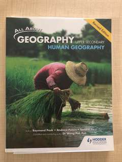 🚚 Upper Secondary Core Geography textbook Human