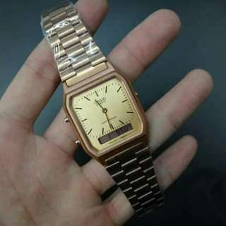 Casio Vintage Watch (dual time)