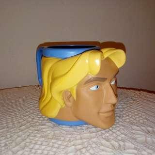 John Smith plastic figural Mug