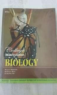 Biology Matriculation Book