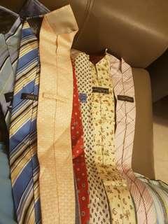 Branded Ties (LV, feragamo, hermes, boss, armani, boss, aigner, bvlgari)
