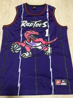 Tracy McGrady T-Mac NBA jersey Raptors Nike 46