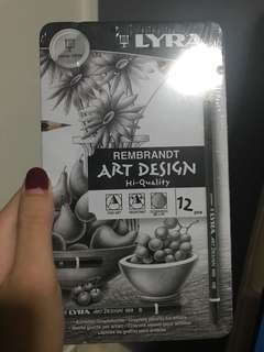 🚚 Lyra graphite pencils BNIB
