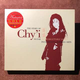 CHYI YU 齊豫 2001 The Story of Chyi so far unforgettable songs includes five number 1 hits Gold Cd