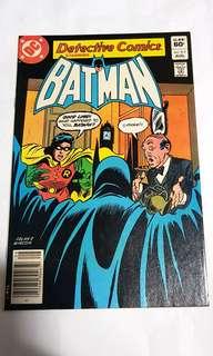 DETECTIVE COMICS 517 BATMAN & ROBIN DC COMICS