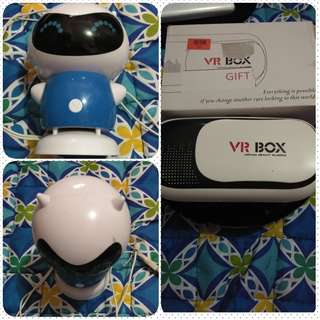 VR Box and Vivo Speaker (bundle)
