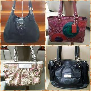 Midyear Clearance Sale - All Authentic Coach Bags