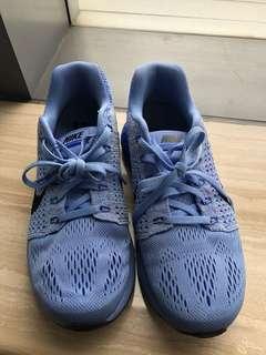 Nike Womens Lunarglide Running Training Shoes Blue size 37.5