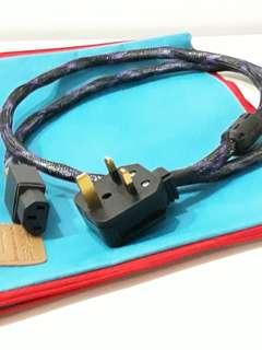 Earth Twister Hi-Fi AC Power Cord