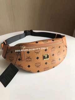 MCM Small Stark Visetos Belt Bag