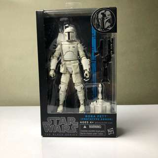Star Wars The Black Series Bobba Fett (Prototype Armor)