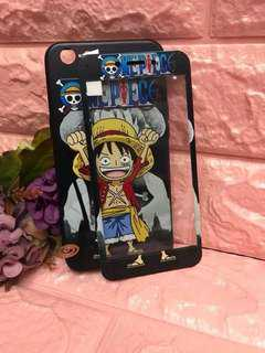 One Piece Case with tempered