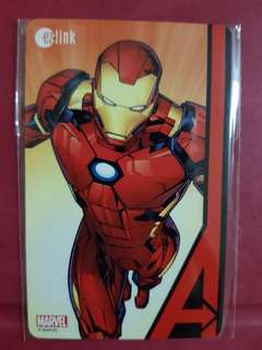 Bnib marvel ezlink card with stored value of $50