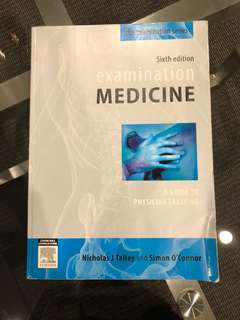 Examination Medicine 6th Edition A Guide to Physician Training