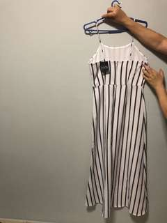 MDS Stripes Maxi dress