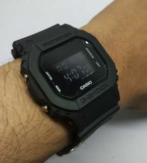 Gshock Digital Dw 5600 Black