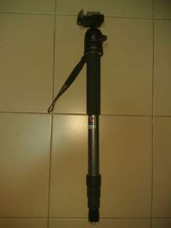 Benro Monopod with Manfrotto Ball Head