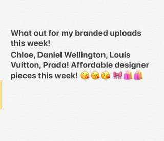 Authentic Designer pieces!