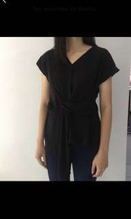 blouse tied top by hnm pull and bear zara bershka