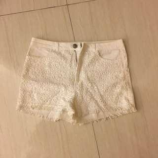 H&M Lace Shorts
