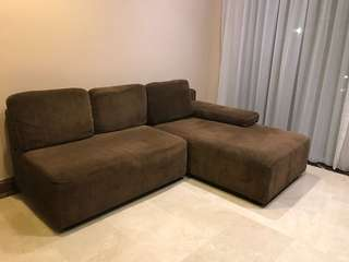 Sofa Coklat Nyaman