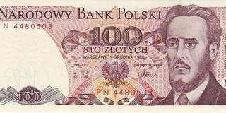 POLAND 100 Zlothy