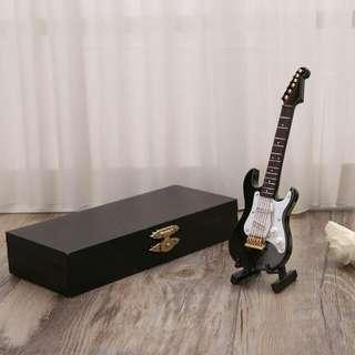 14Cm miniature model electric guitar迷你電結他模型