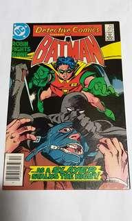 DETECTIVE COMICS 557 BATMAN & ROBIN DC COMICS