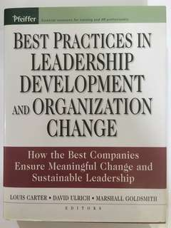 Best practices Leadership Development