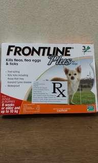 Dog's frontline. 🐶