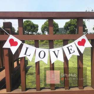 Love Banners | Instock