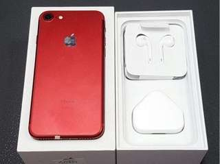 Iphone 7 Special edition Red 128