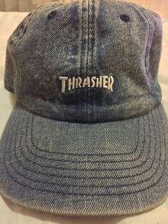Thrasher Dad Cap Denim