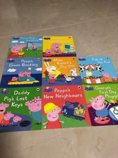 Peppa Pig books (8 books)
